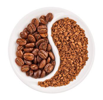 Чем растворимый кофе хуже зернового