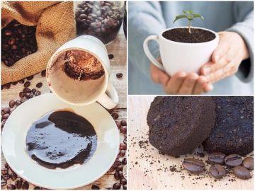 Куда деть отработанный кофе