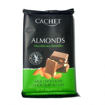 Молочный шоколад Chachet Миндаль 300 г
