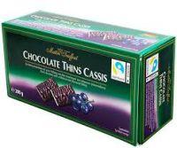 Конфеты Maitre Truffout Chocolate Thins Cassis 200г