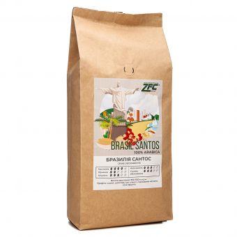 Моносорт кофе в зёрнах Бразилия Сантос 1кг