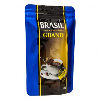 Кофе растворимый сублимат Premiere Brasil GRAND 75г