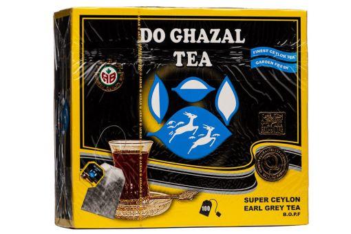 Чай чёрный с бергамотом в пакетиках 100 шт