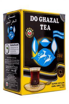 Чай чёрный листовой с Бергамотом Akbar Do Ghazal tea Ceylon 500 грамм