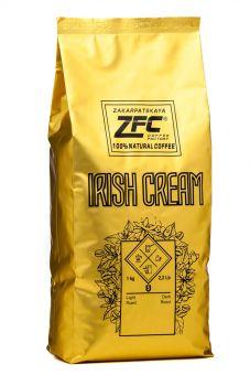 Ароматизированный кофе в зёрнах ZFC Aroma Ирландский крем 1 кг