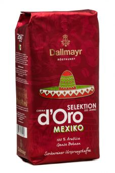 Кофе в зёрнах Dallmayr crema d'Oro Selektion Mexico 1 кг