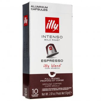 Кофе в капсулах Illy Nespresso Intenso 10 шт