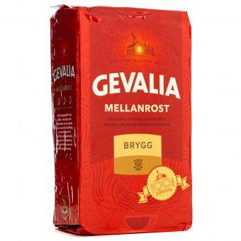 Кофе молотый Gevalia Mellanrost BRYGG 450г