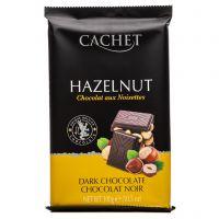 Чёрный шоколад Cachet Фундук 300 г