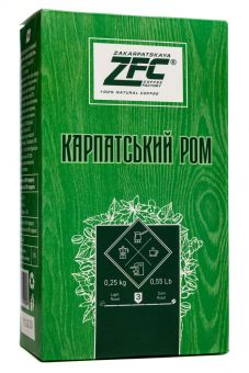 Молотый кофе Карпатский Ром 250 грамм